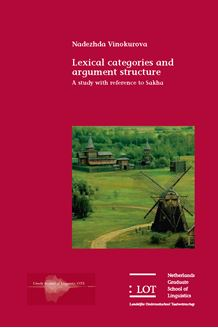 Picture of Lexical Categories and Argument Structure : a study with reference to Sakha