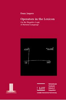 Picture of Operators in the Lexicon: On the Negative Logic of Natural Language