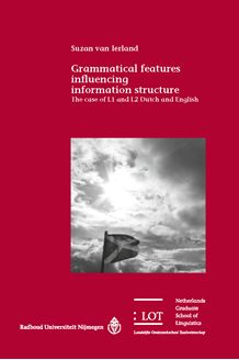 Picture of Grammatical features influencing information structure: The case of L1 and L2 Dutch and English