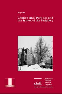 Picture of Chinese Final Particles and the Syntax of the Periphery