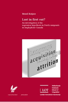 Picture of Last in first out? An investigation of the regression hypothesis in Dutch emigrants in Anglophone Canada