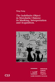 Picture of The Indefinite Object in Mandarin Chinese: its Marking, Interpretation and Acquisition