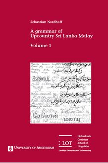 Picture of A grammar of Upcountry Sri Lanka Malay