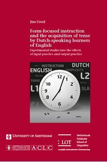 Picture of Form-focused instruction and the acquisition of tense by the Dutch-speaking learners of English