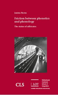 Picture of Friction between phonetics and phonology: The status of affricates