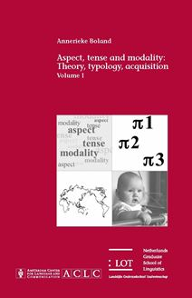 Picture of Aspect, tense and modality: Theory, typology, acquisition