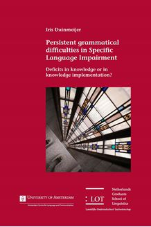 Picture of Persistent grammatical difficulties in Specific Language Impairment