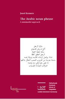 Picture of The Arabic noun phrase