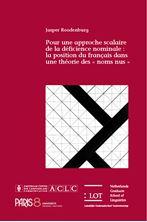 Picture of Pour une approche scalaire de la déficience nominale : la position du français dans une théorie des « noms nus »