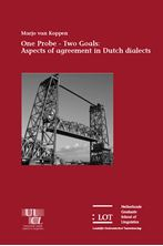 Picture of One Probe - Two Goals : Aspects of agreement in Dutch dialects