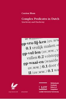 Picture of Complex Predicates in Dutch: Synchrony and Diachrony