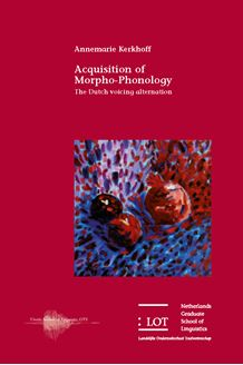 Picture of Acquisition of Morpho-Phonology: The Dutch voicing alternation