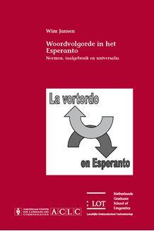 Picture of Woordvolgorde in het Esperanto: Normen, taalgebruik en universalia