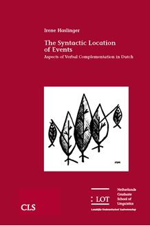 Picture of The Syntactic Location of Events: Aspects of Verbal Complementation in Dutch