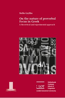 Picture of On the nature of preverbal Focus in Greek: A theoretical and experimental approach