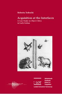 Picture of Acquisition at the Interfaces: A Case Study on Object Clitics in Early Italian