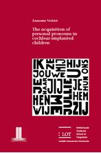 Picture of The acquisition of personal pronouns in cochlear-implanted children