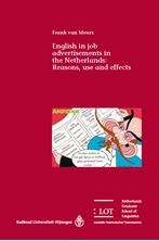 Picture of English in job advertisements in the Netherlands: Reasons, use and effects