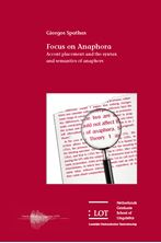 Picture of Focus on Anaphora: Accent placement and the semantics of anaphors