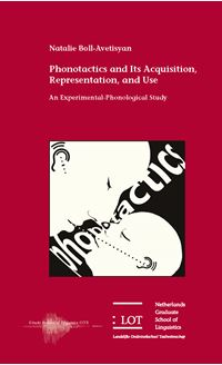 Picture of Phonotactics and Its Acquisition, Representation, and Use: An Experimental-Phonological Study