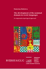 Picture of The development of the nominal domain in creole languages: A comparative-typological approach