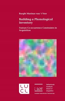 Picture of Building a Phonological Inventory: Feature Co-occurrence Constraints in Acquisition