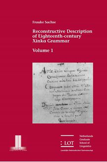 Picture of Reconstructive Description of Eighteenth-century Xinka Grammar