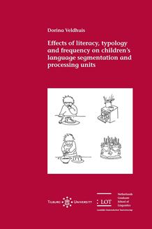 Picture of Effects of literacy, typology and frequency on children's language