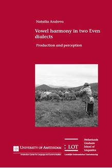 Picture of Vowel harmony in two Even dialects