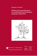 Picture of Binding and quantification in monolingual and bilingual language acquisition