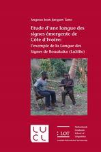 Picture of Etude d'une langue des signes émergente de Côte d'Ivoire