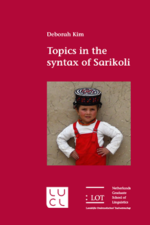 Picture of Topics in the syntax of Sarikoli