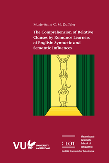 Picture of The Comprehension of Relative Clauses by Romance Learners of English: Syntactic and Semantic Influences
