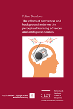 Picture of The effects of nativeness and background noise on the perceptual learning of voices and ambiguous sounds