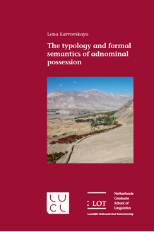 Picture of The typology and formal semantics of adnominal possession