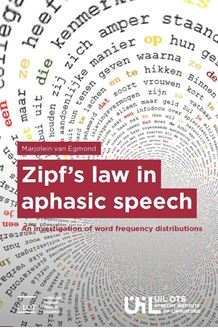 Picture of Zipf's law in aphasic speech: An investigation of word frequency distributions