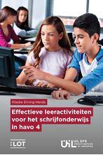 Picture of Effectieve leeractiviteiten voor het schrijfonderwijs in havo 4
