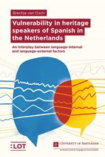 Picture of Vulnerability in heritage speakers of Spanish in the Netherlands