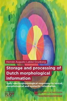 Picture of Storage and processing of Dutch morphological information