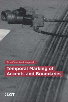 Picture of Temporal Marking of Accents and Boundaries