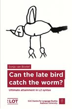 Picture of Can the late bird catch the worm?