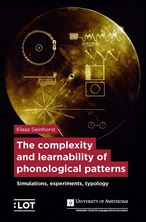 Picture of The complexity and learnability of phonological patterns