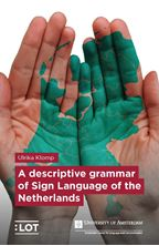 Picture of A descriptive grammar of Sign Language of the Netherlands